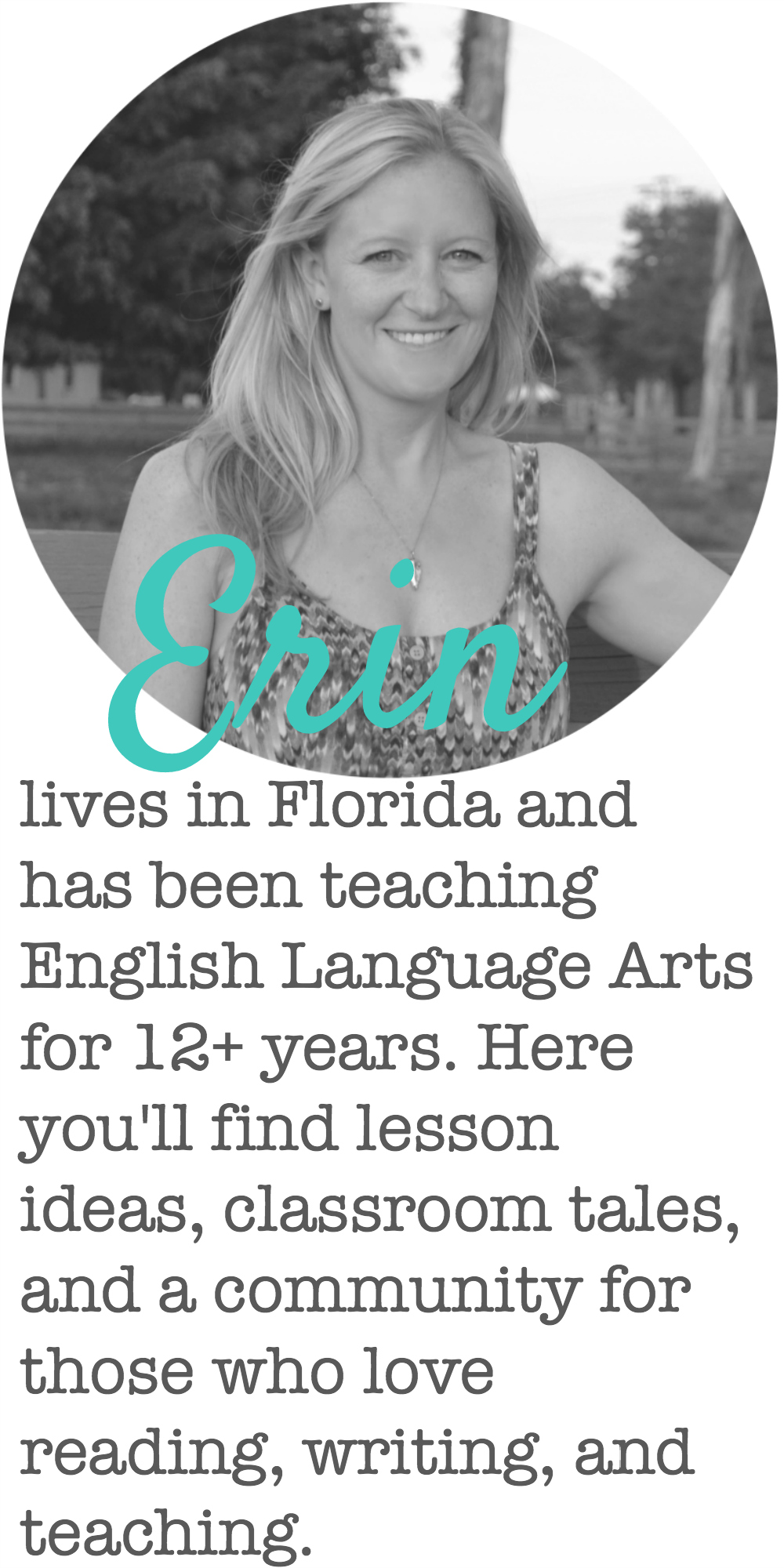 Erin Smith ELA -- A community for those who love reading, writing, and teaching.